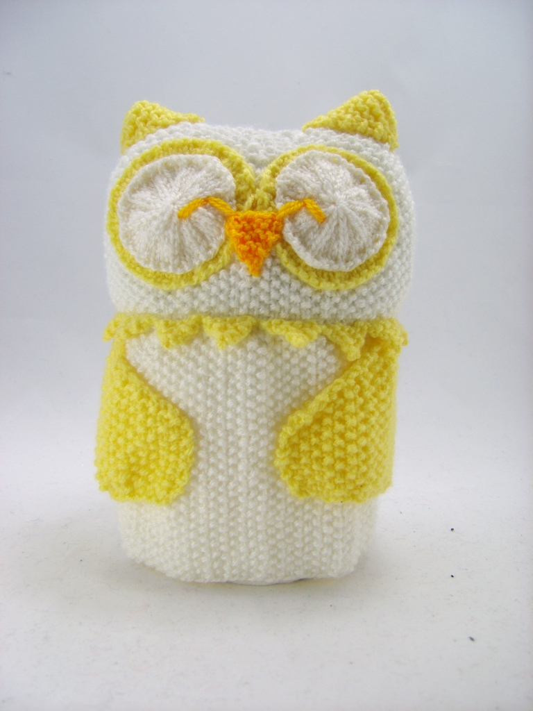 Owl toilet roll cover knitting pattern knitting by post knitting patternsowl knitting patterns bankloansurffo Image collections