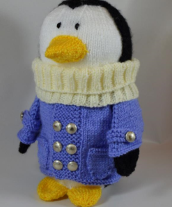 Traveling Penguin Soft Toy knitting pattern Knitting Pattern