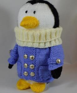 penguin toy knitting pattern