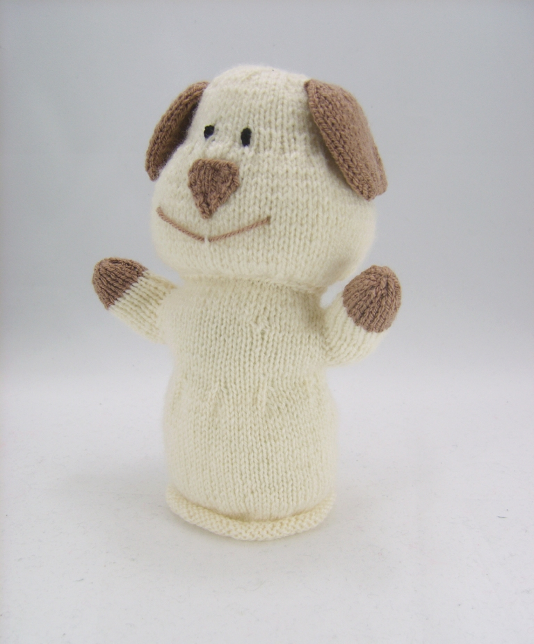 Dog Hand Puppet Knitting Pattern Knitting By Post