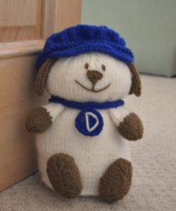 dog doorstop knitting pattern chunky