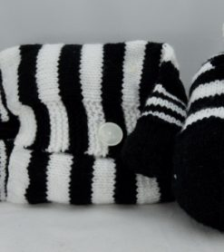 Zebra Pyjama Case Knitting Pattern