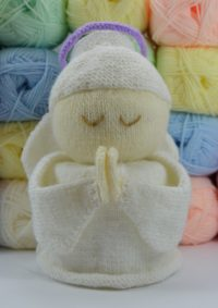 Knitting By Post Angel Door Stop Pattern Chunky