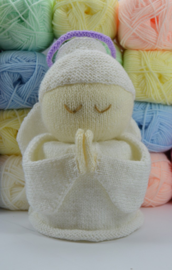 Angel Toilet Roll Cover Knitting Pattern – Knitting by Post