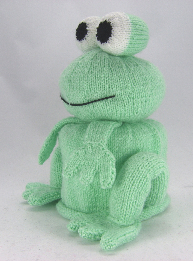 Bog Frog Toilet Roll Cover Knitting Pattern Knitting By Post