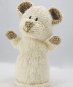cute bear puppet knitting pattern