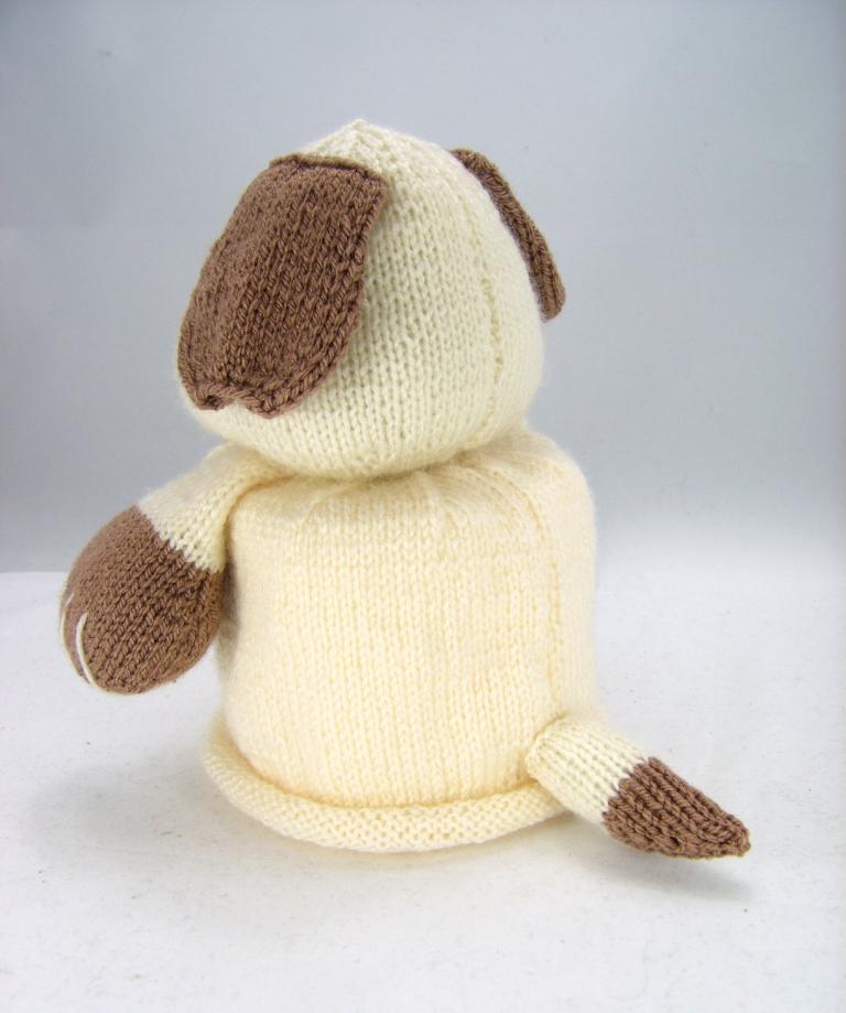 Toilet Roll Cover Knitting Pattern : Bog Dog Toilet Roll Cover Knitting Pattern   Knitting by Post