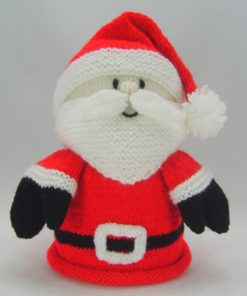 santa toilet roll cover knitting pattern pdf and leaflet