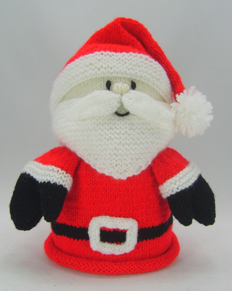 Knitted Father Christmas Pattern Free : Santa Toilet Roll Cover Knitting Pattern   Knitting by Post