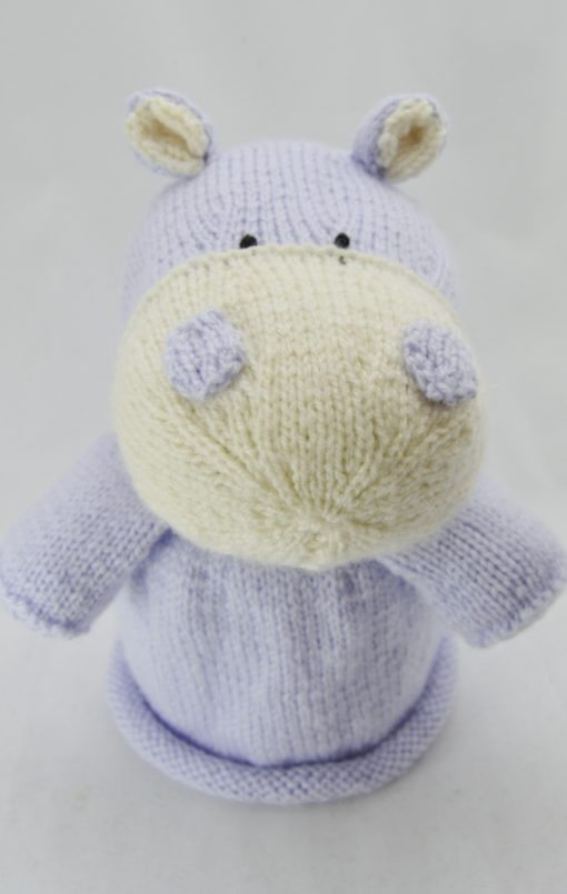 hippo toilet roll cover knitting pattern