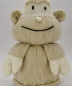 monkey front knitting pattern