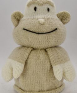 monkey front knitting pattern