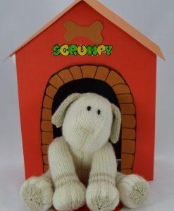 scrumpy in kennel knitting pattern