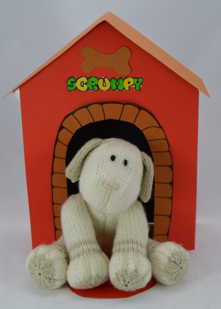 Scrumpy Dog Soft Toy Knitting Pattern   Knitting by Post