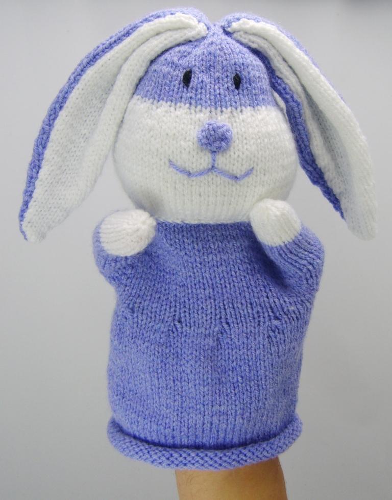 Rabbit Hand Puppet Knitting Pattern Knitting By Post
