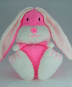 rabbit bunny toilet roll cover knitting pattern
