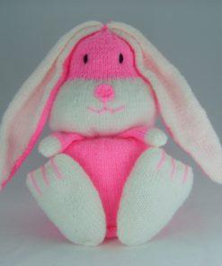 rabbit bunny toilet roll cover knitting pattern