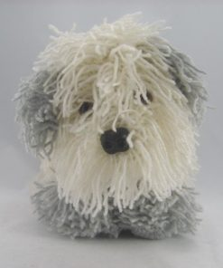 old english sheepdog knitting pattern