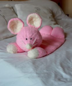 mouse pyjama case knitting paterns