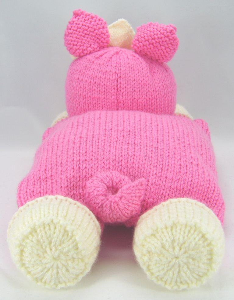 Pig Pyjama Case Knitting Pattern – Knitting by Post
