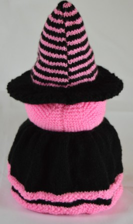 witch toilet roll cover knitting pattern
