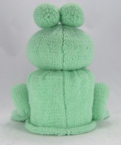 frog toilet roll cover knitting pattern back