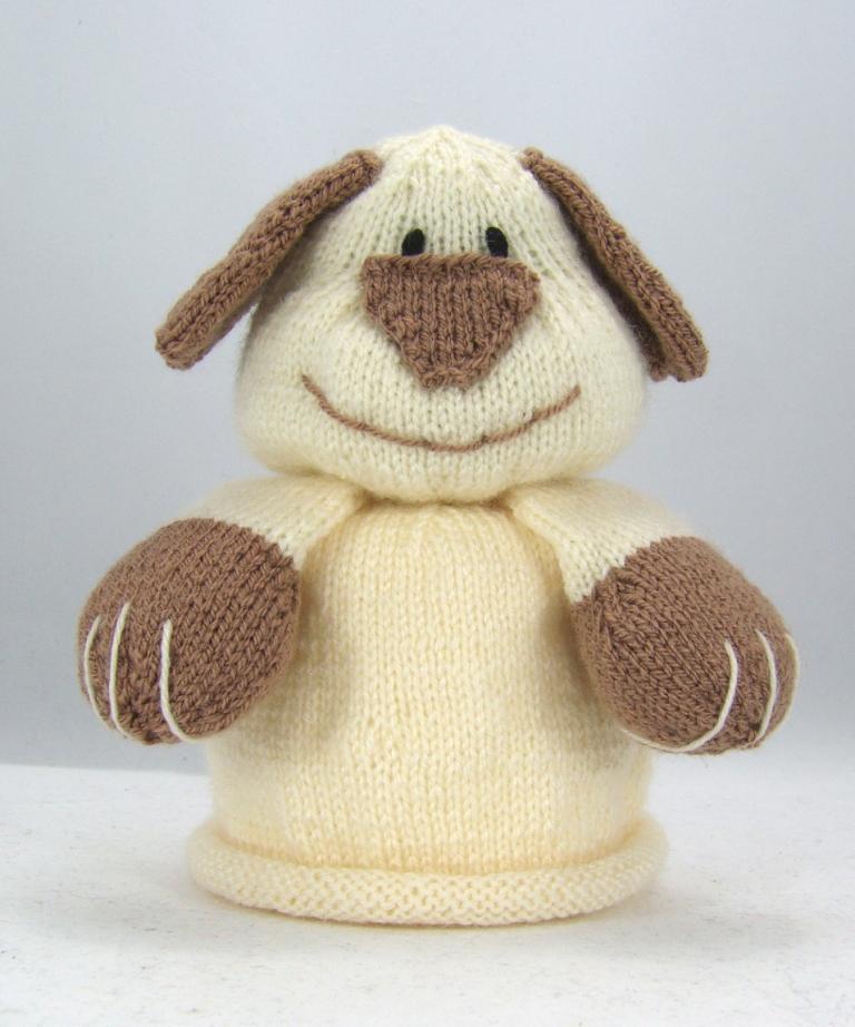 bog dog toilet roll cover knitting pattern