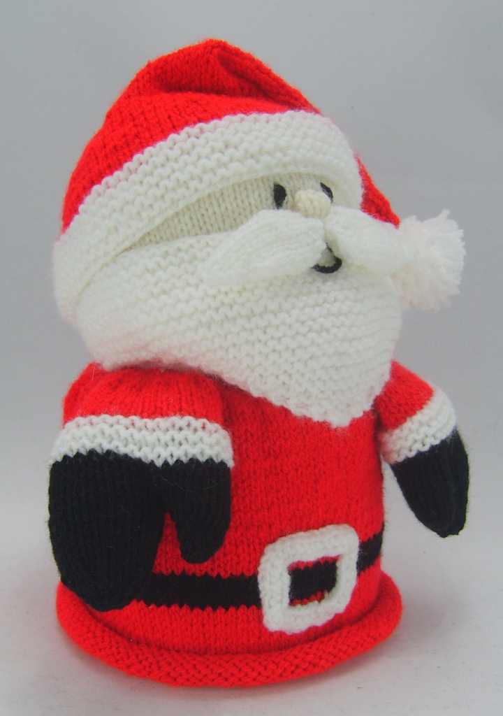 Santa Toilet Roll Cover Knitting Pattern Knitting By Post