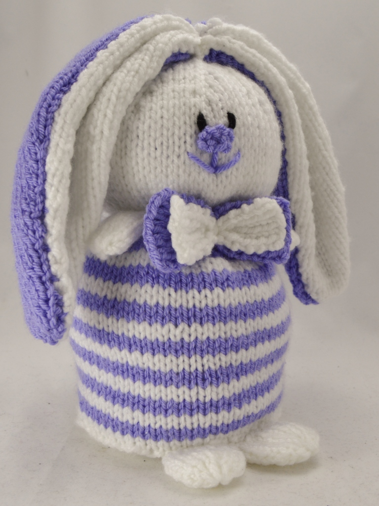 Knitting Patterns For Pet Rabbits : Rabbit Doorstop Knitting Pattern   Knitting by Post