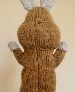 reindeer puppet knitting pattern