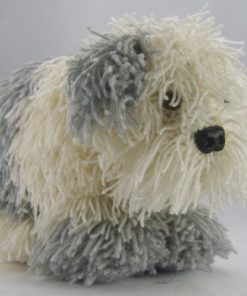 cracker the old english sheepdog knitting pattern double knitting