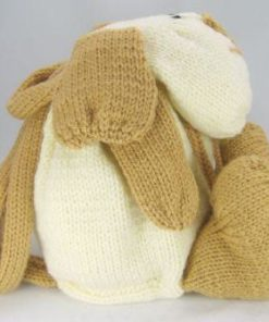 dog rucksack knitting pattern