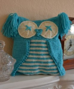 owl pyjama case knitting pattern