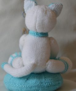 Claude the Cat Soft Toy Knitting Pattern back