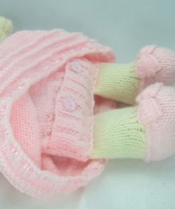 dolly pyjama case back knitting pattern opening