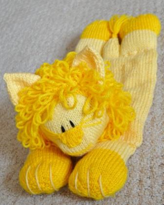 Lion Pyjama Case Knitting Pattern Knitting By Post