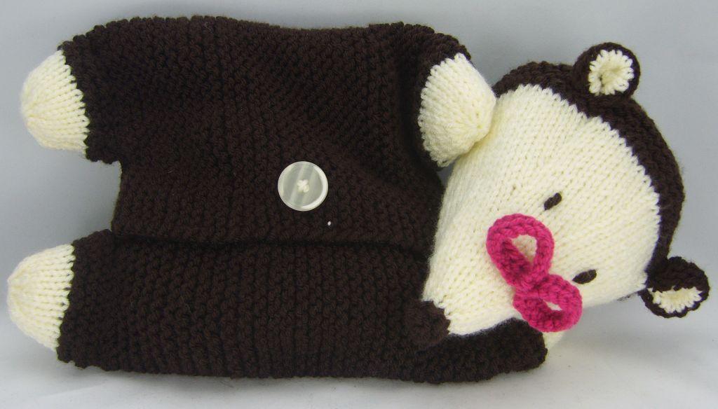 Mole Pyjama Case Knitting Pattern PDF File   Knitting by Post