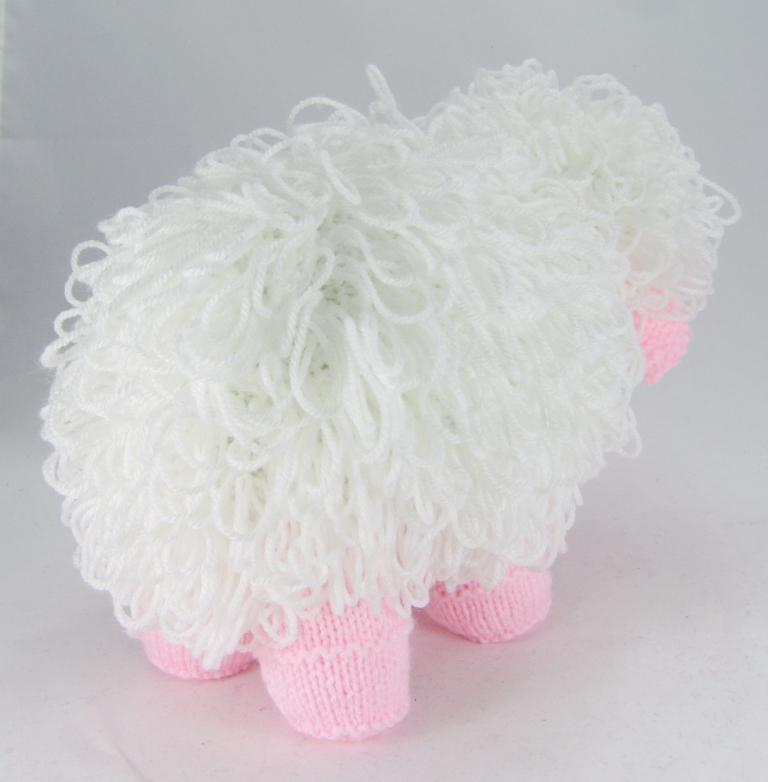 Curly the Sheep Knitting Pattern   Knitting by Post