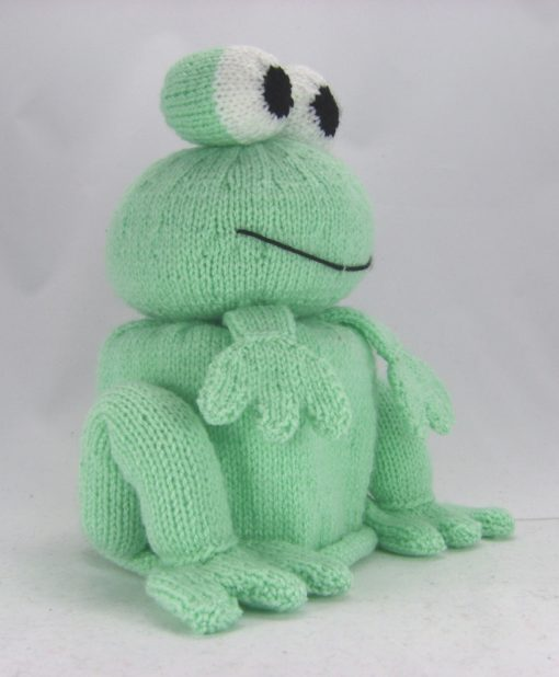 frog toilet paper cover knitting pattern