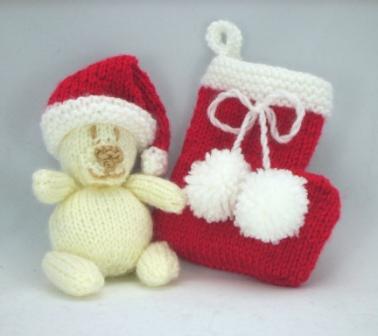 christmas kids stocking 99p knitting pattern