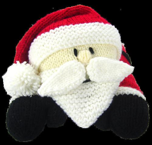 Santa Pyjama Case Christmas Special Edition Knitting Pattern