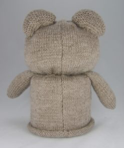 bear toilet roll cover knitting pattern