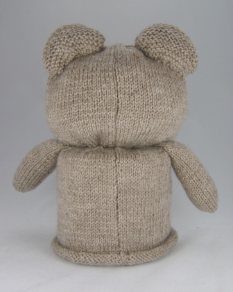 Knitting Pattern For Toilet Paper Holder : Bear Toilet Roll Cover Knitting Pattern   Knitting by Post