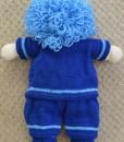 boy back  knitting pattern