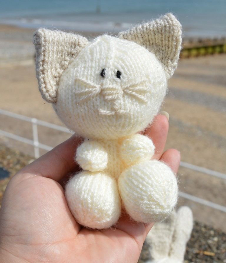 Cat Rabbit And Dog Soft Toy Knitting Pattern Knitting