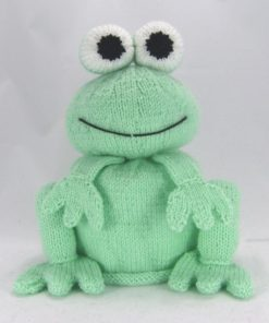 frog toilet roll cover knitting pattern