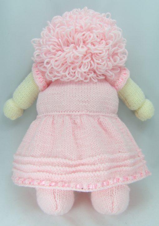 dolly pyjama case back knitting pattern