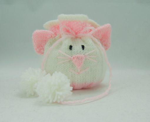 cat knitting pattern bag