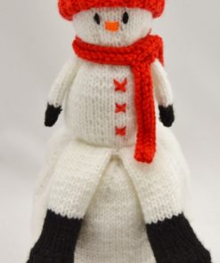 snowman topsy knitting pattern