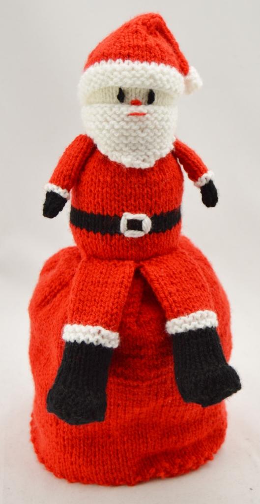 Santa and Snowman Topsy Doll Knitting Pattern - Knitting ...